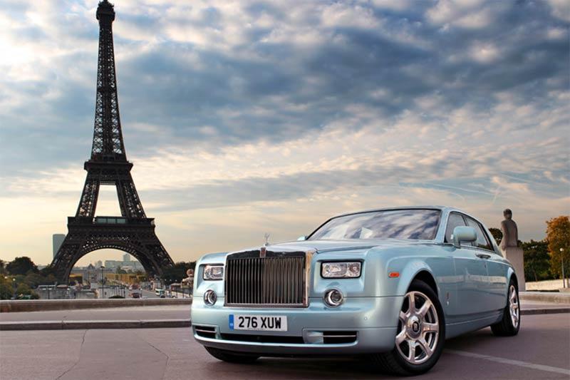 Elektro Rolls-Royce Weltumrundung