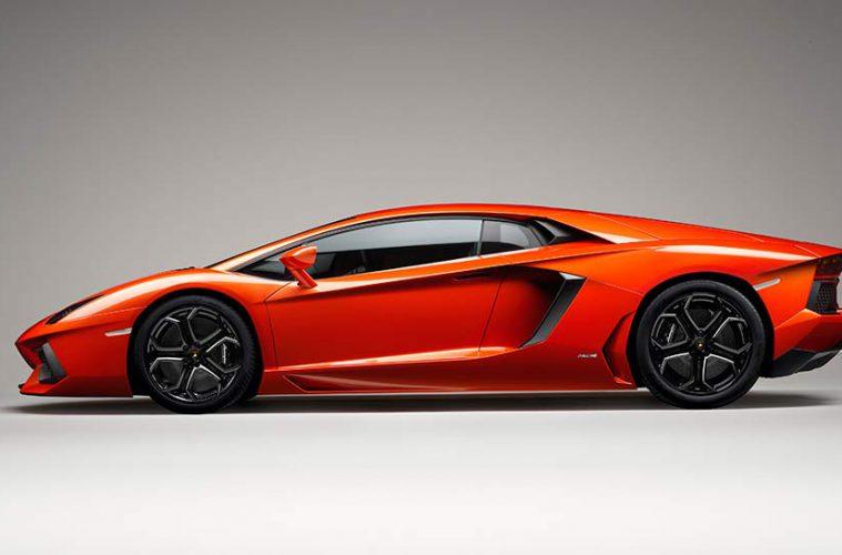 Lamborghini Aventador Japan
