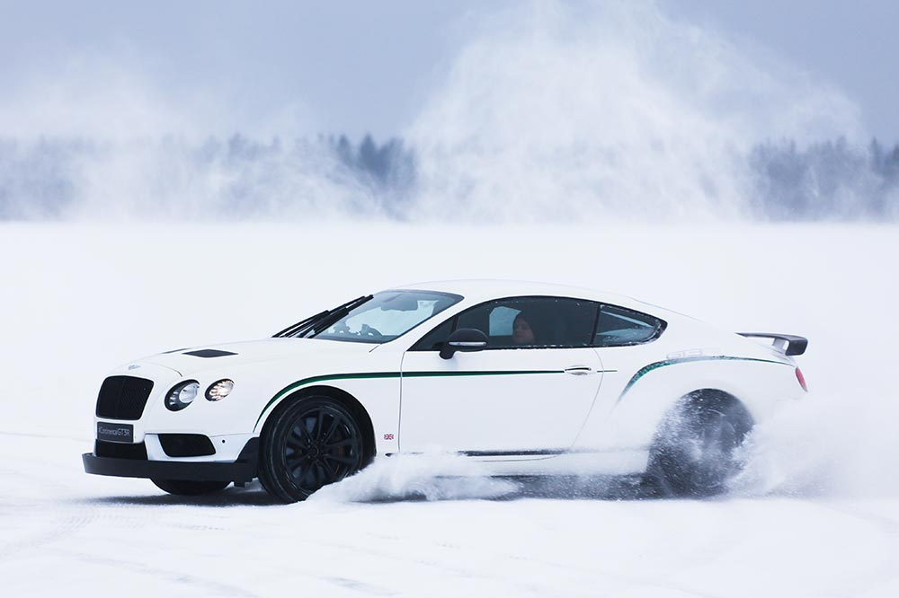 Bentley Power on Ice
