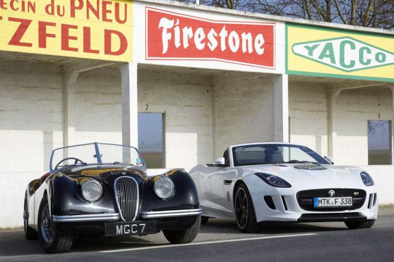 Jaguar F-TYPE Jabbeke