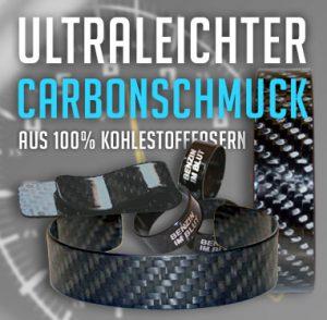 Ultraleichter Carbonschmuck