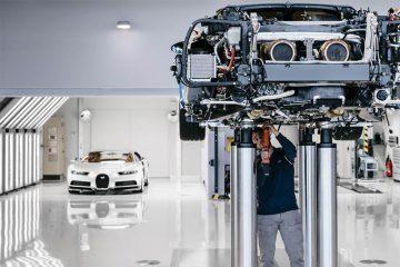 Bugatti Chiron Produktion