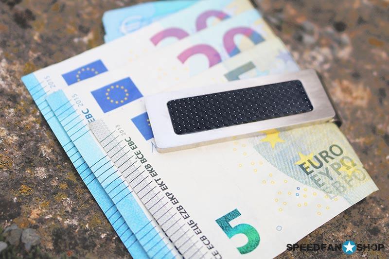 Business Carbon Accessoires Geldklammer