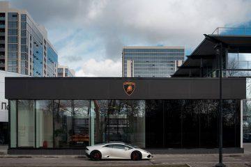 Lamborghini Showroom in Russland