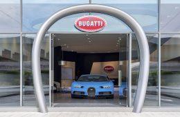 Bugatti Dubai Showroom UAE