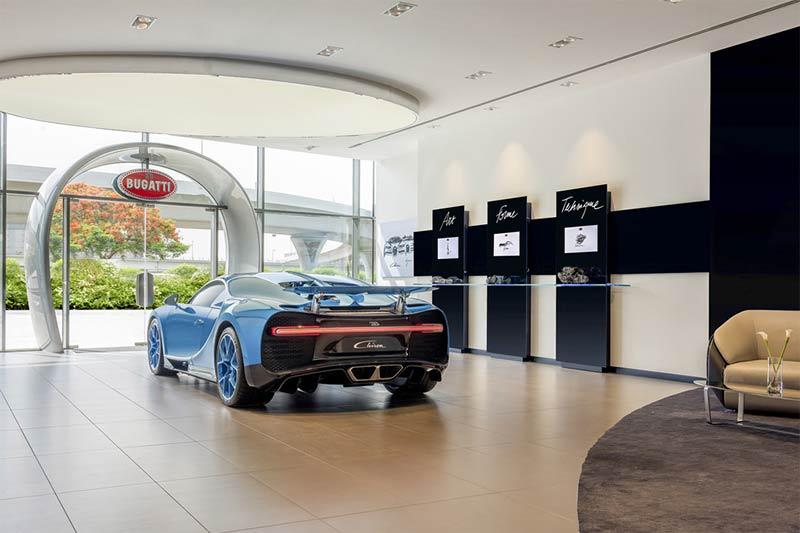 Bugatti Dubai - Weltgrößter Bugatti Showroom