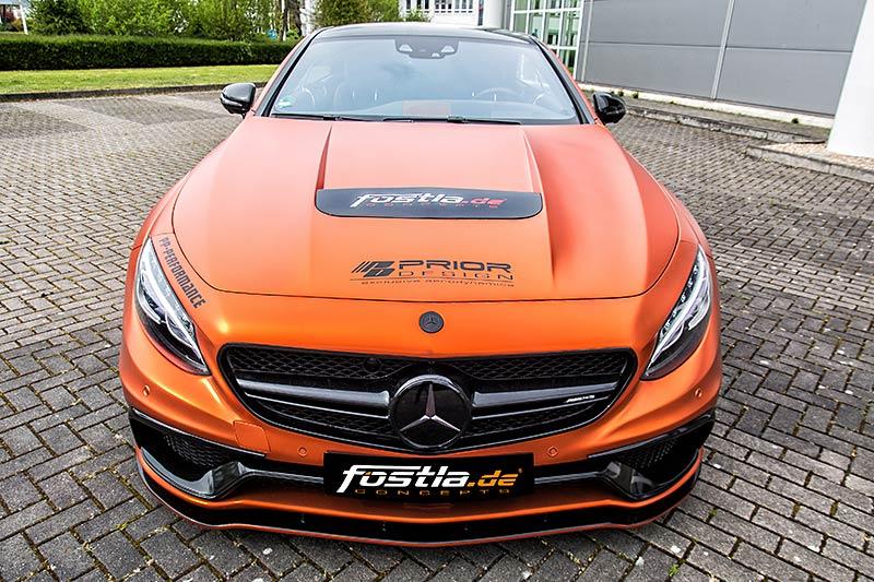 Mercedes-Benz S 63 AMG Tuning von fostla - Front