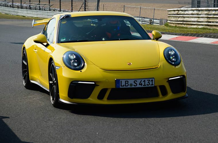 neuer porsche 911 gt3 f hrt n rburgring bestzeit. Black Bedroom Furniture Sets. Home Design Ideas