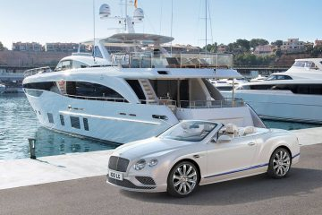 Bentley Continental GT Convertible Galene Edition von Mulliner