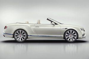 Bentley Continental GT Convertible Galene Edition von Mulliner - Seitenansicht