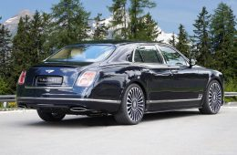 Bentley Mulsanne by MANSORY - Heckansicht