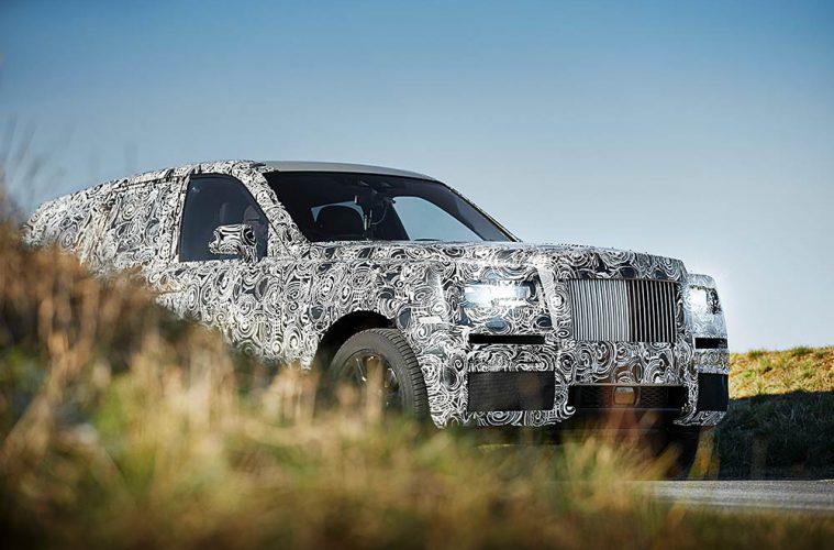 Rolls-Royce Cullinan - Erlkönig des britischen Luxus-SUV