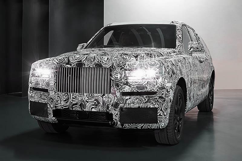 Rolls-Royce Cullinam - Luxus-SUV von Rolls-Royce
