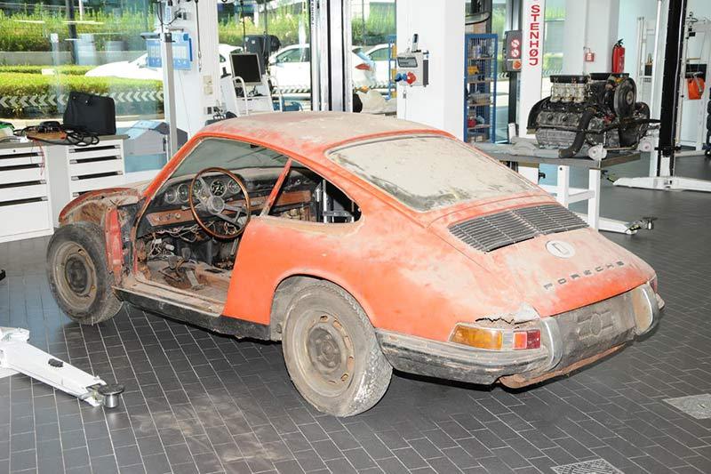 Der Ur-Zustand des Porsche 911 (901 Nr. 57)