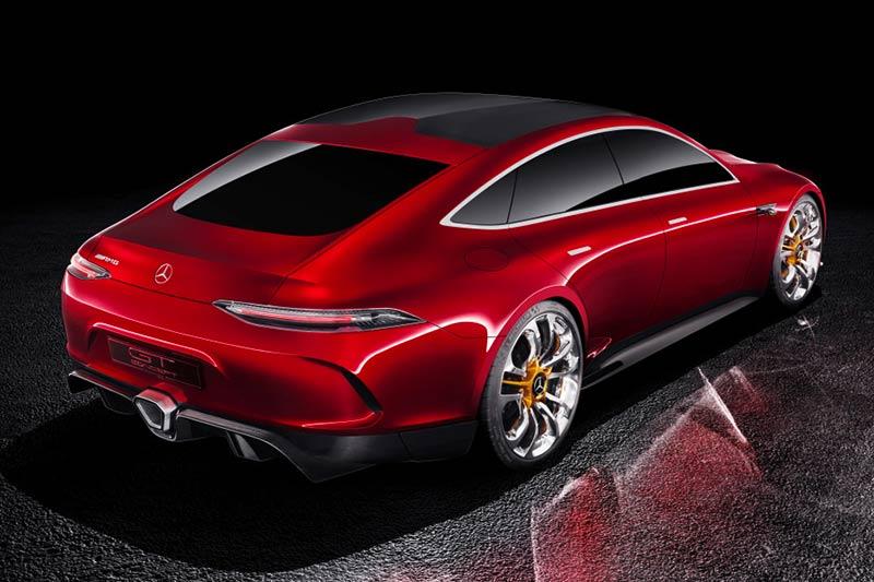 Mercedes-AMG GT4 Limousine - Hybrid Sportwagen mit vier Türen