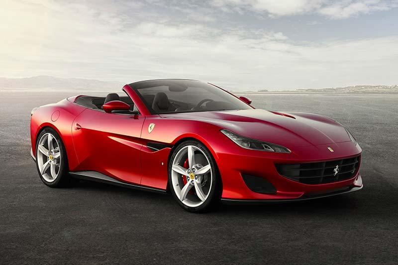 Eine der Neuerscheinungen 2018, der Ferrari Portofino