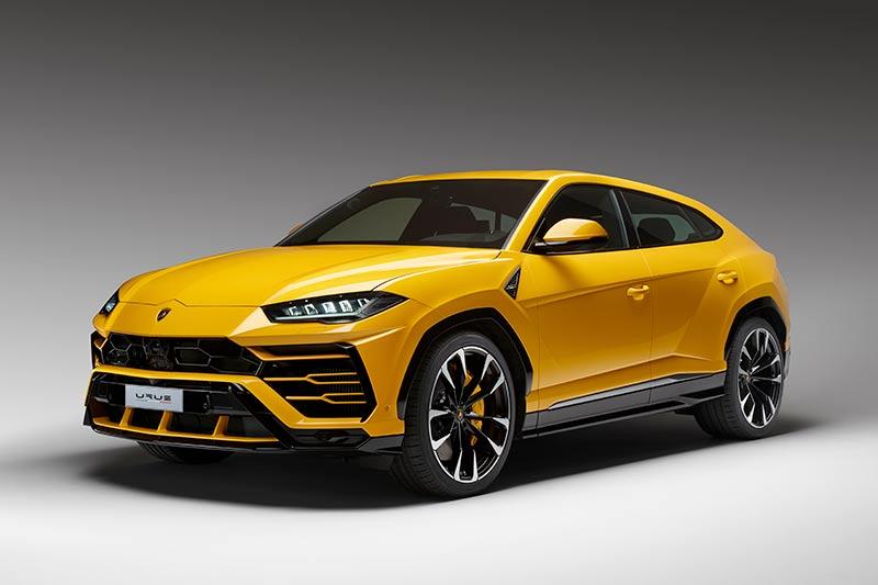 Sportliches Auftreten mit typischen Lamborghini-Details