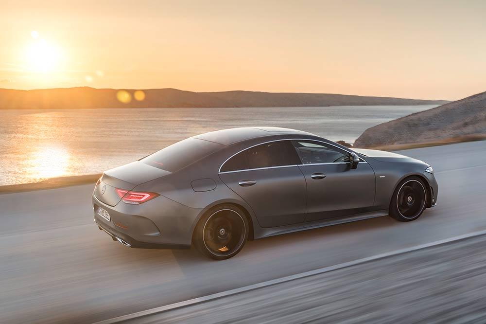 Automobile Neuerscheinungen 2018 - Mercedes-Benz CLS