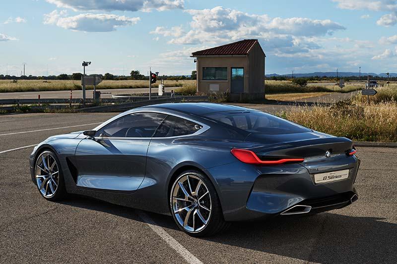Das neue BMW Coupé der 8er Serie.