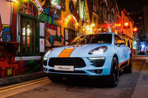 Porsche Macan - Gulf Design