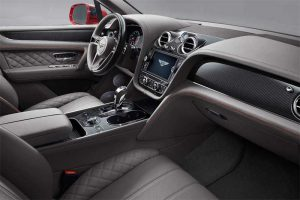 Bentley Bentayga V8 Interieur