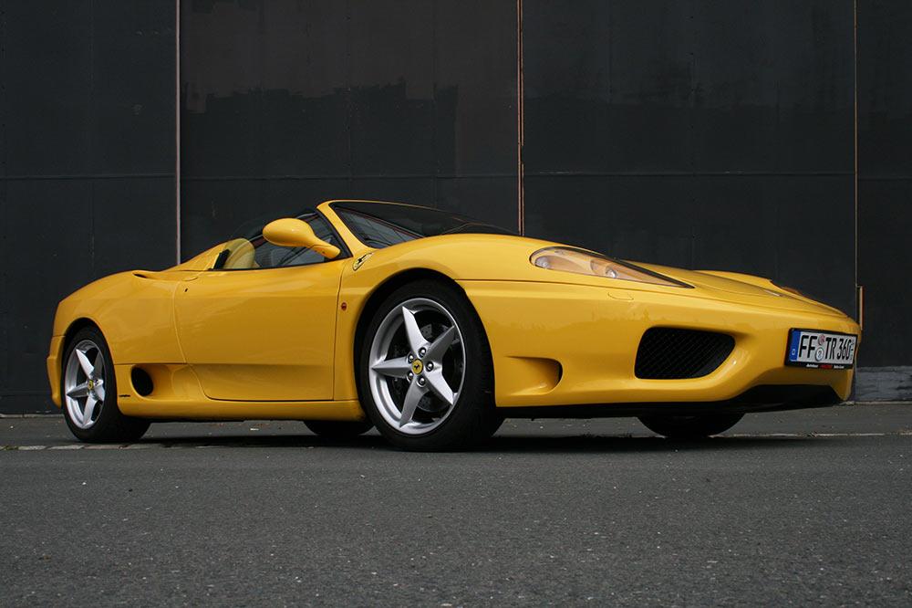 Ferrari 360 Modena F1 Spider in giallo modena kaufen
