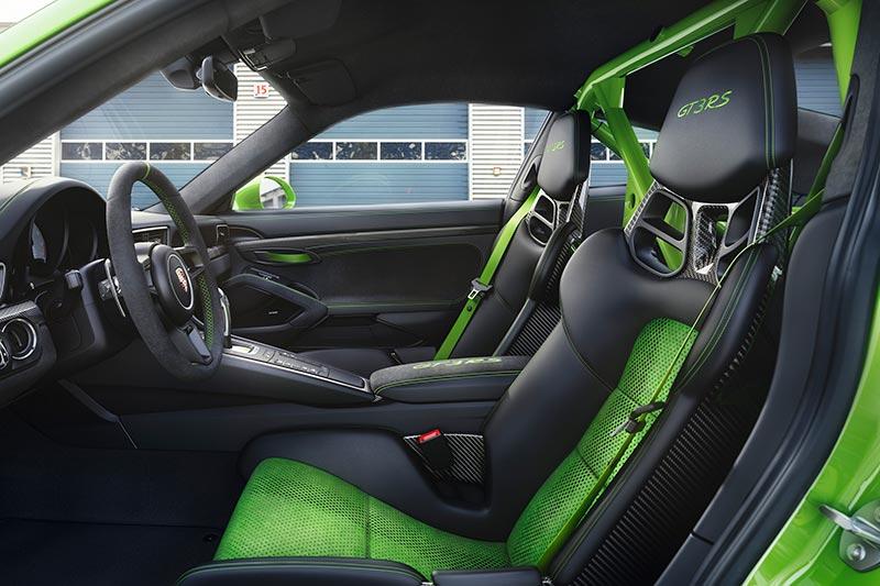 Porsche GT3 RS - Sportsitze