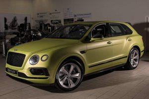 Der speziell für das Pikes Peak-Rennen aufbereitete 600 PS starke Bentley Bentayga