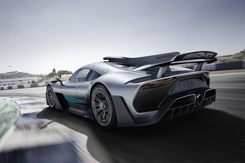 Das Mercedes-AMG Project ONE Hypercar