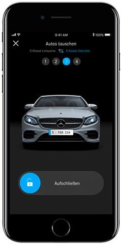 Mercedes me Flexperience App