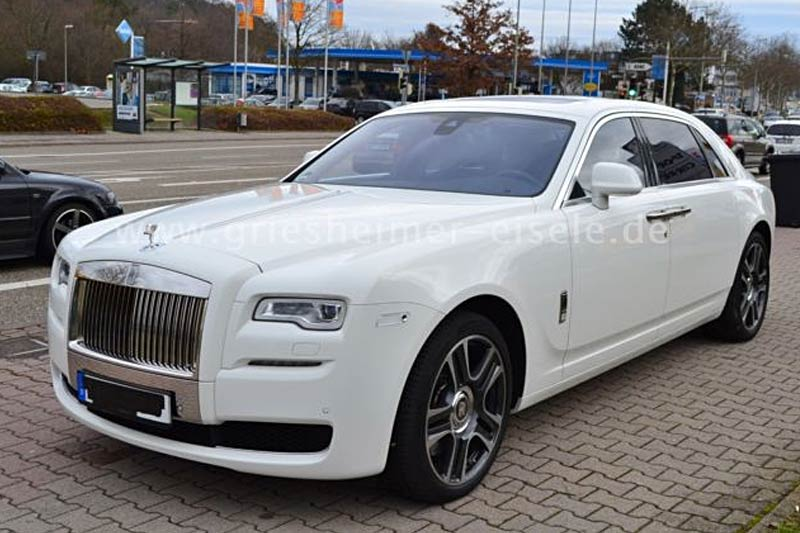 Rolls-Royce Ghost Series II Extended Wheelbase Weiß Gebrauchtfahrzeug