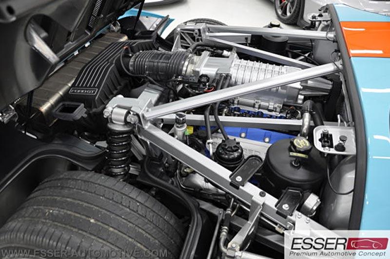 Ford GT Heritage Gulf Design - Sammlerfahrzeug zu verkaufen