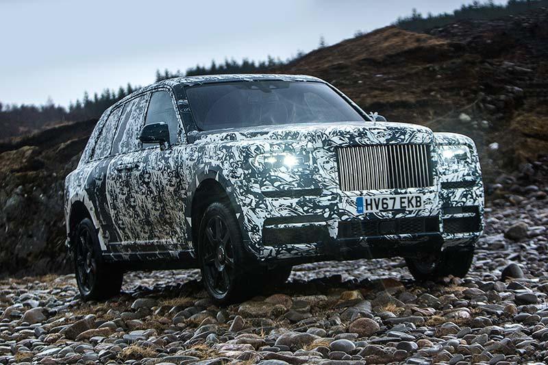Rolls Royce Cullinan unterwegs durch die Welt mit dem National Geographic