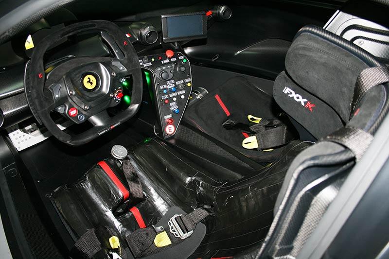 Das Cockpit des Ferrari FXX-K