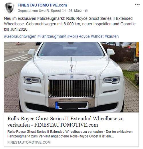 Referenz Social Media Facebook