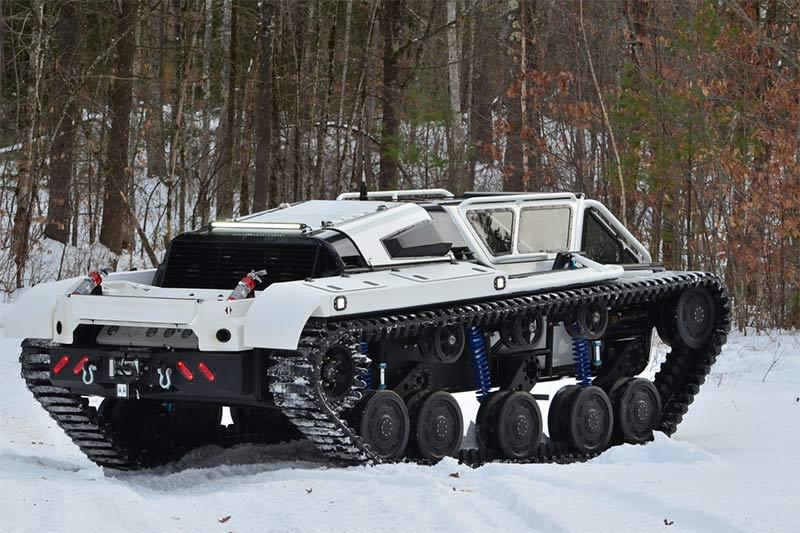 Ripsaw EV - Privatpanzer nicht nur für Männer