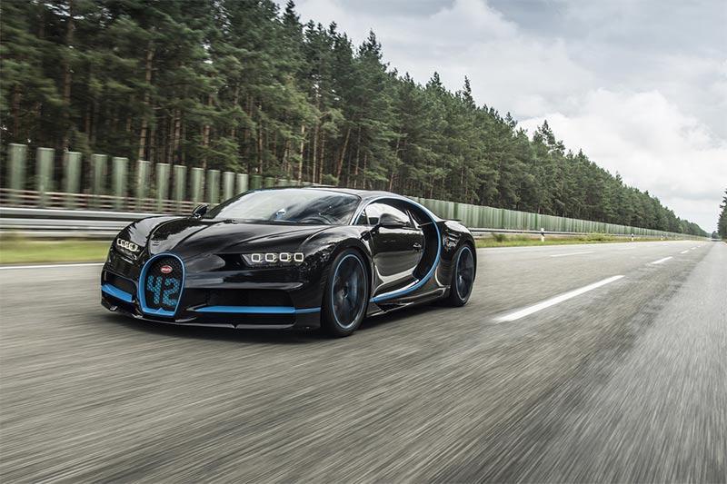 Der Bugatti Chiron von 0-400-0 km/h in 42 Sekunden