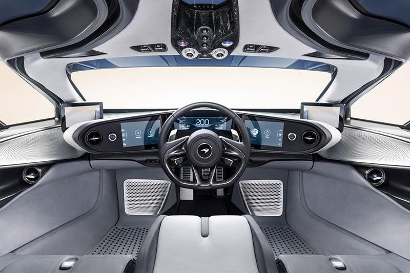 McLaren Speedtail Interieur