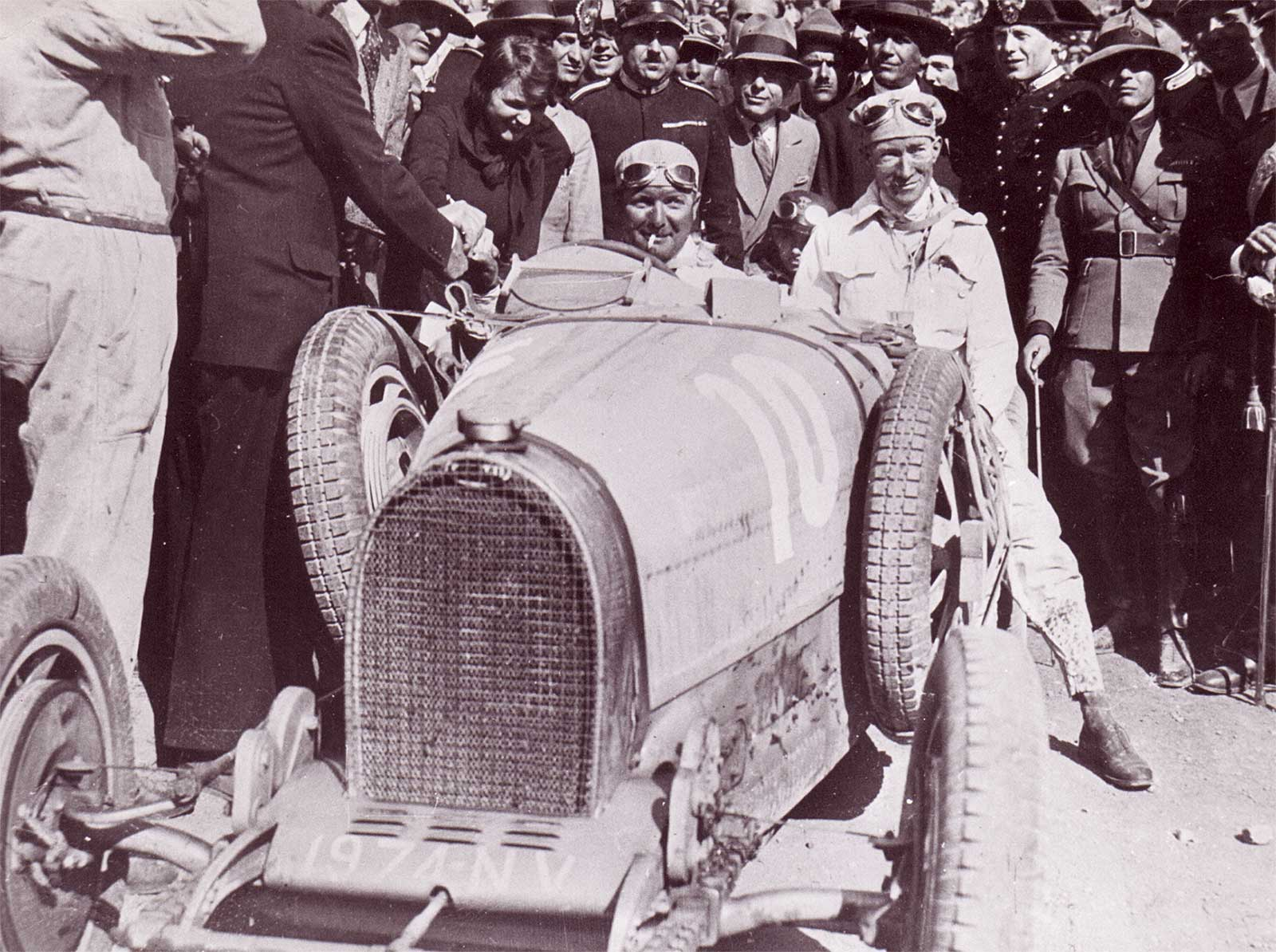 Albert Divo bei der Targa Florino