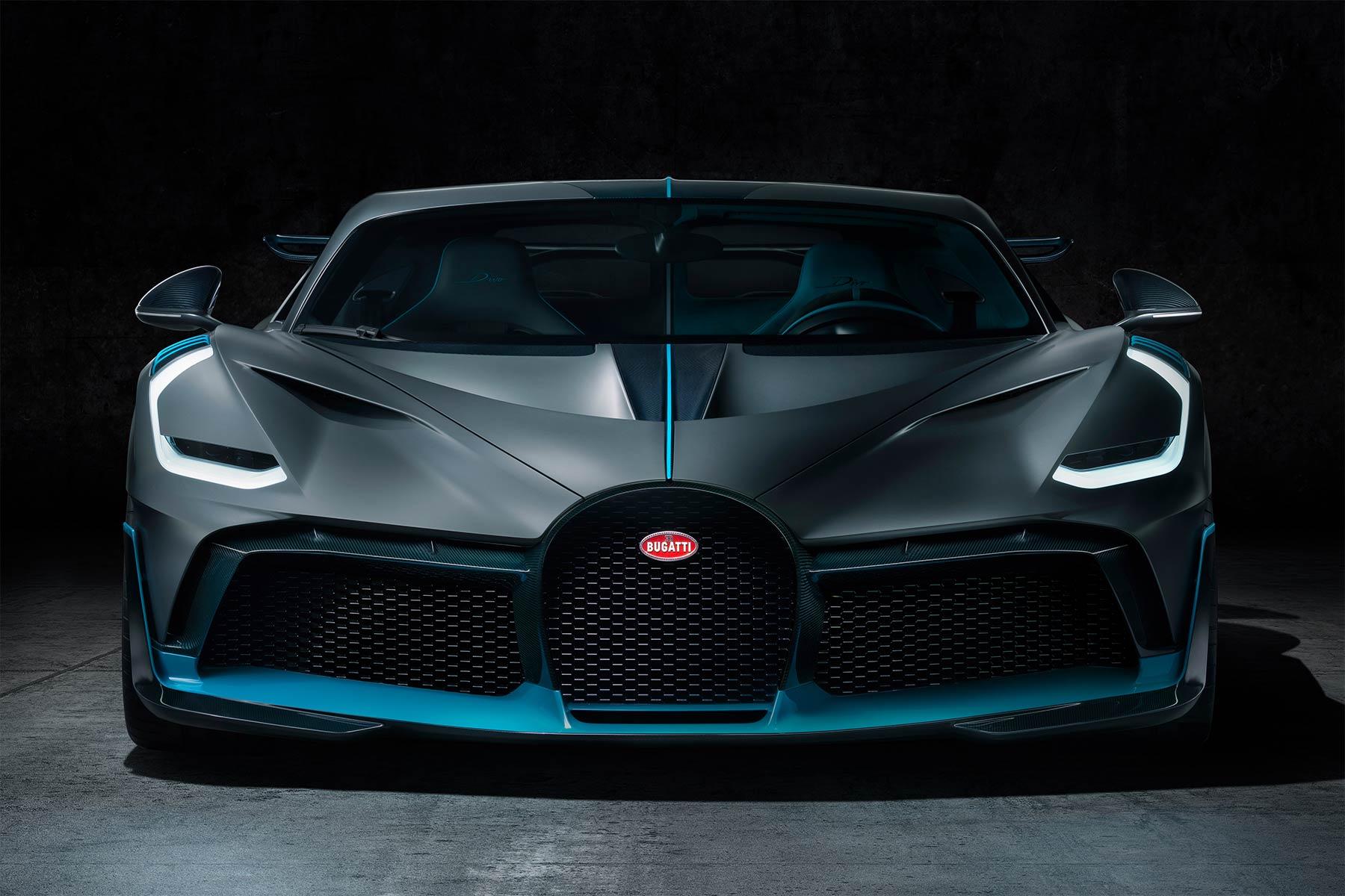 Bugatti Divo Frontansicht