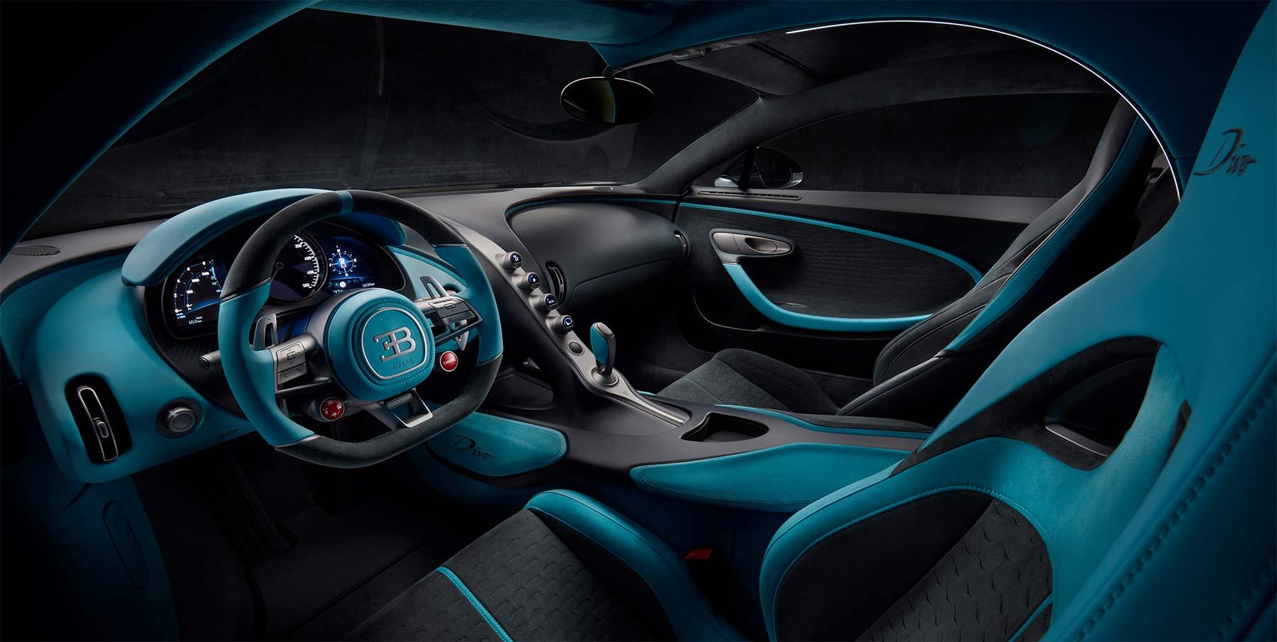 Bugatti Divo Interieur