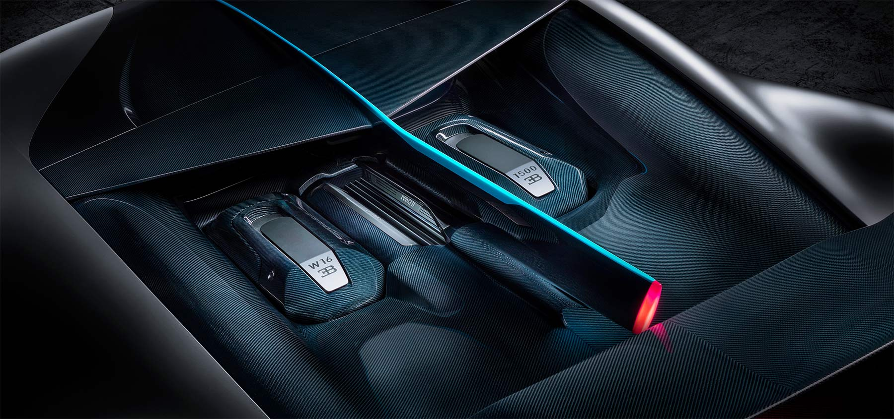 Bugatti Divo Motorraum