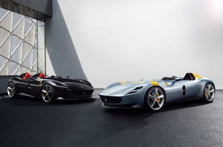 Ferrari Monza SP1 und Ferrari Monza SP2