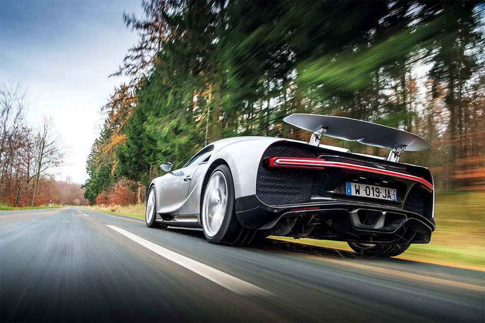 Bugatti Chiron - schnellster Bugatti aller Zeiten