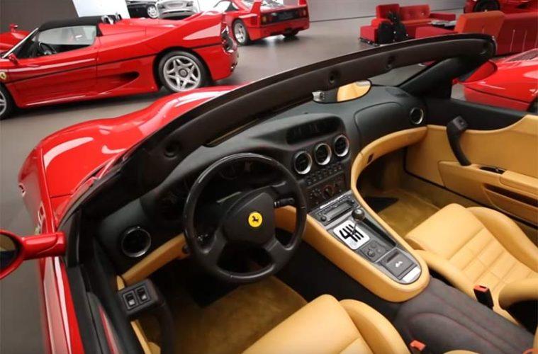 Größte Ferrari Sammlung