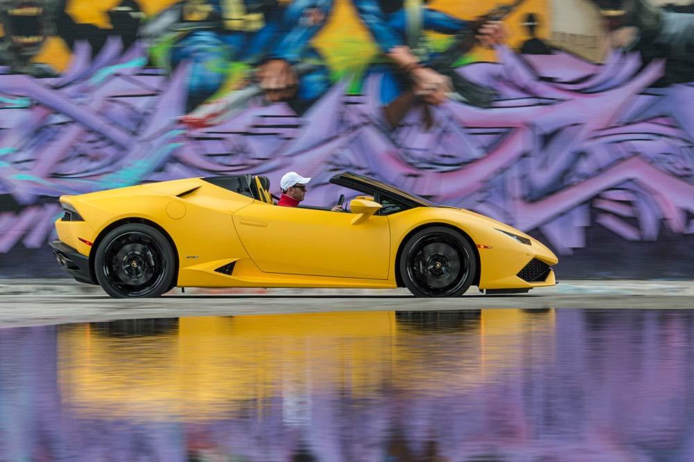Einen Lamborghini für das Wochenende mieten