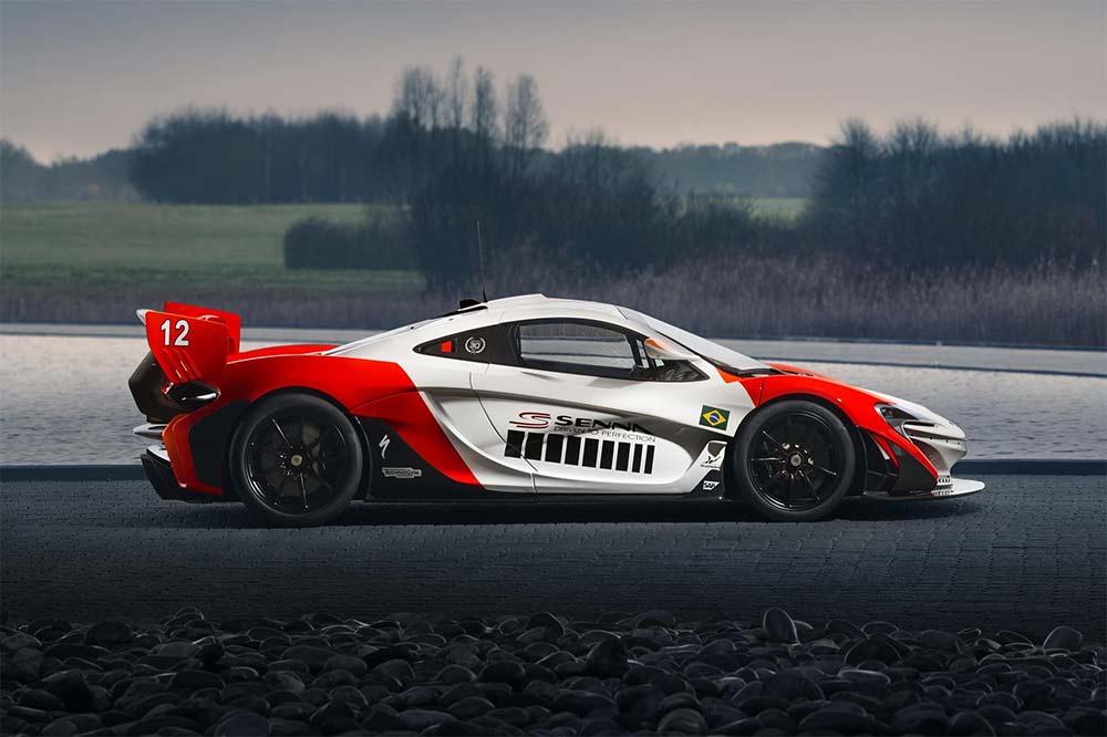 McLaren P1 GTR Beco Ayrton Senna
