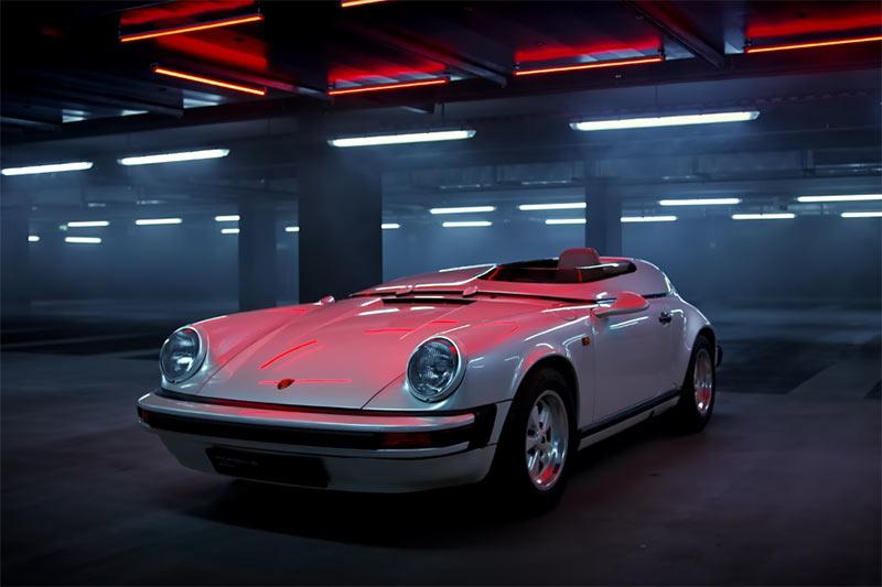 Porsche 911 Carrera Speedster Clubsport Prototyp