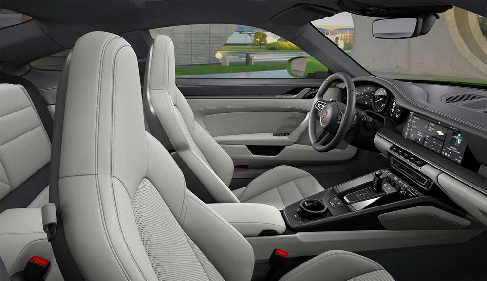 Porsche 911 Online-Konfigurator - Porsche Carrera S Innenraum