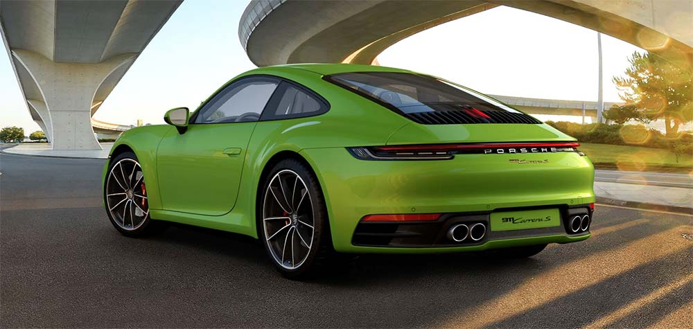 Porsche 911 Online-Konfigurator - Porsche Carrera S